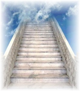 stairs into the sky